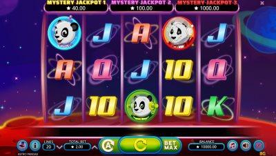 Capture d'écran Astro Pandas