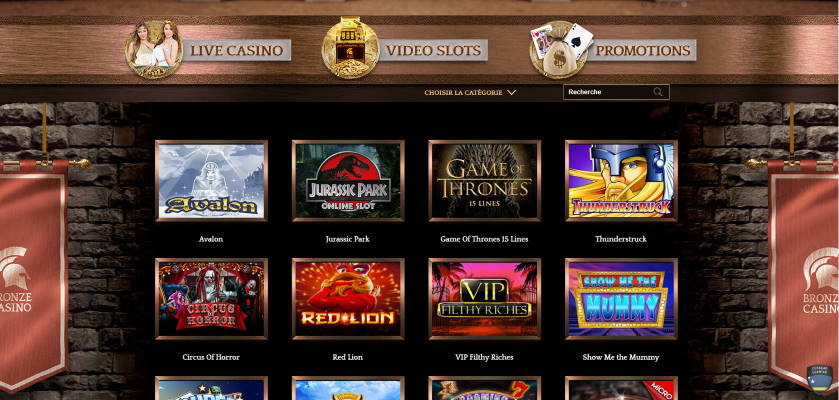 Lobby Bronze Casino