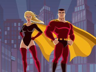 Des super-héros