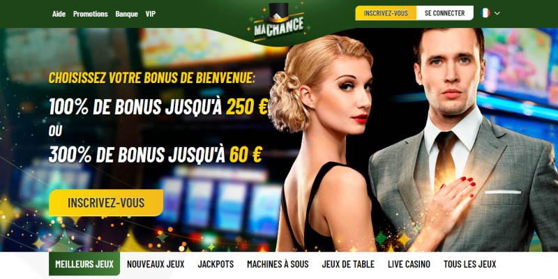 Lobby Ma Chance Casino