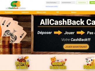 Lobby All Cashback Casino