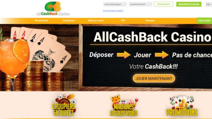 Lobby All Cashback Casino