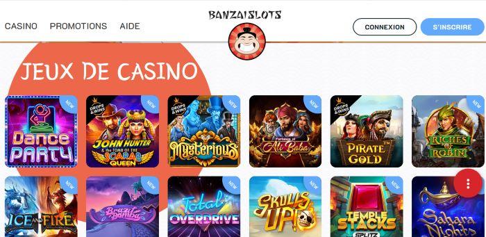 Lobby Banzai Slots