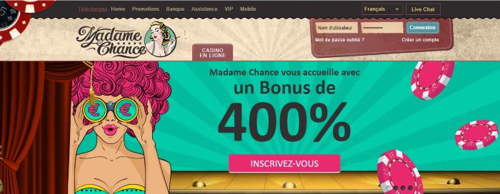 Lobby Madame Chance