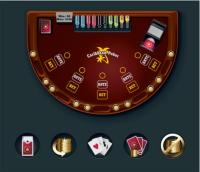 Table de Caribbean stud poker