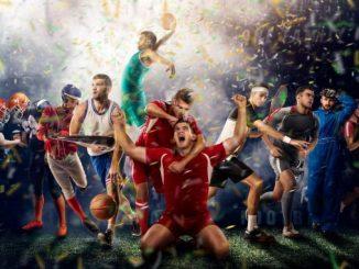 Un groupe de sportifs