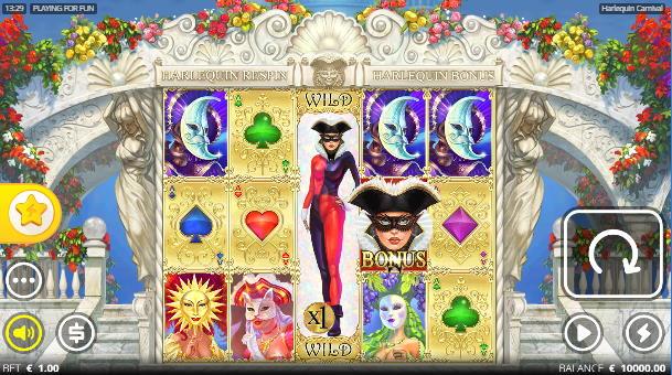 Capture d'écran Harlequin Carnival
