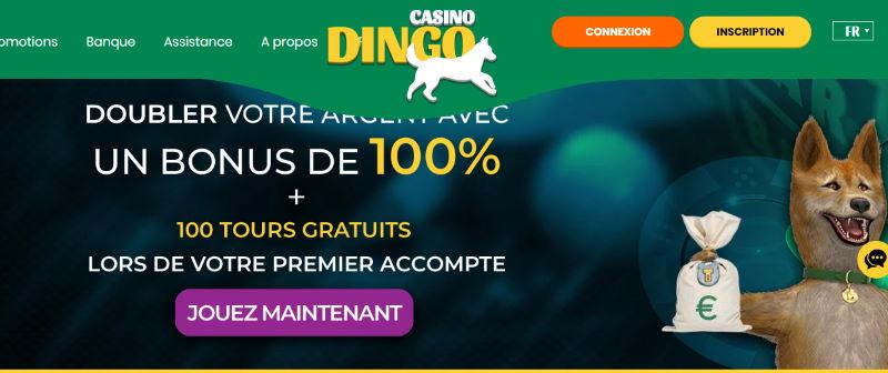 Lobby Dingo Casino