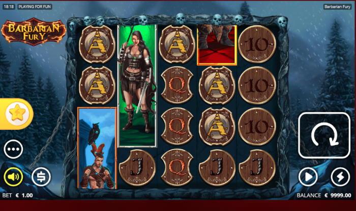 Capture d'écran Barbarian Fury