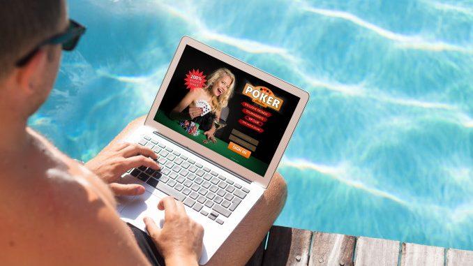 Joueur de casino en ligne