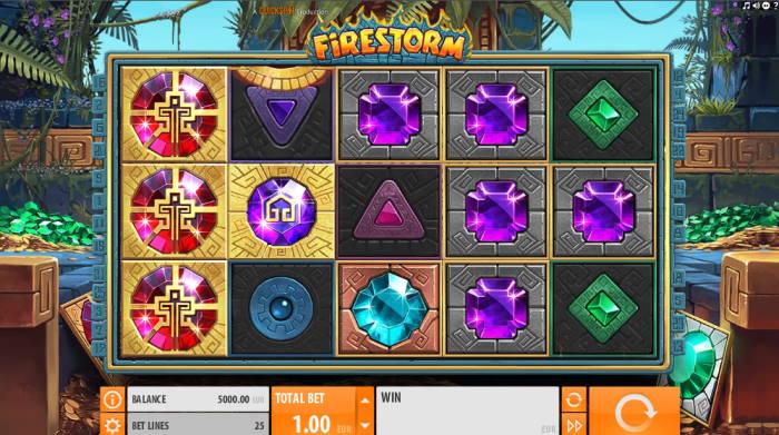 capture d'écran Firestorm
