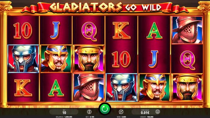capture d'écran Gladiators go wild
