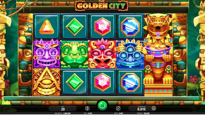 Capture d'écran The golden city