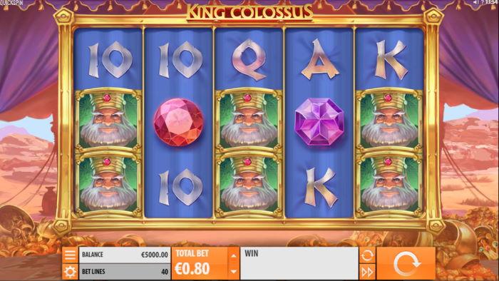 capture d'écran King Colossus
