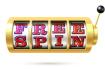 Machine à sous avec texte Free Spin