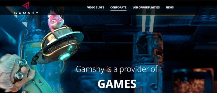 Capture d'écran Gamshy