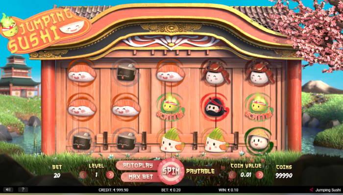 Capture d'écran Jumping Sushi
