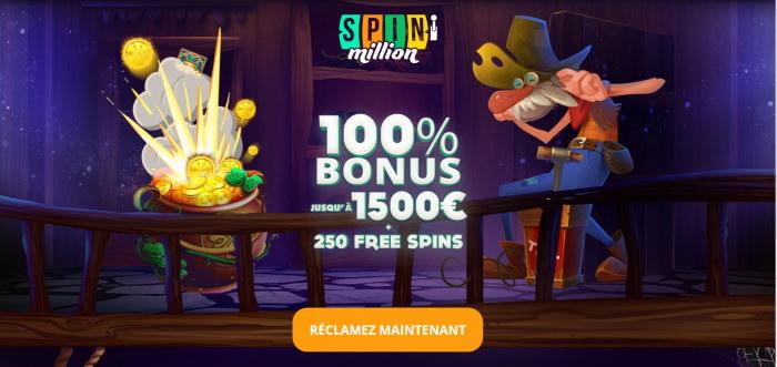 Lobby Casino Spin Million