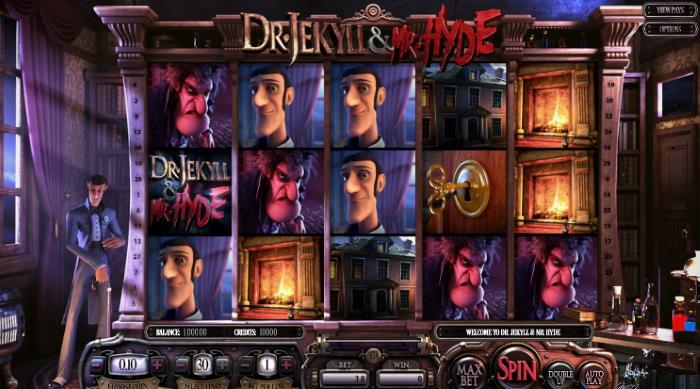 Machine à sous Dr Jekyll et Mr Hyde