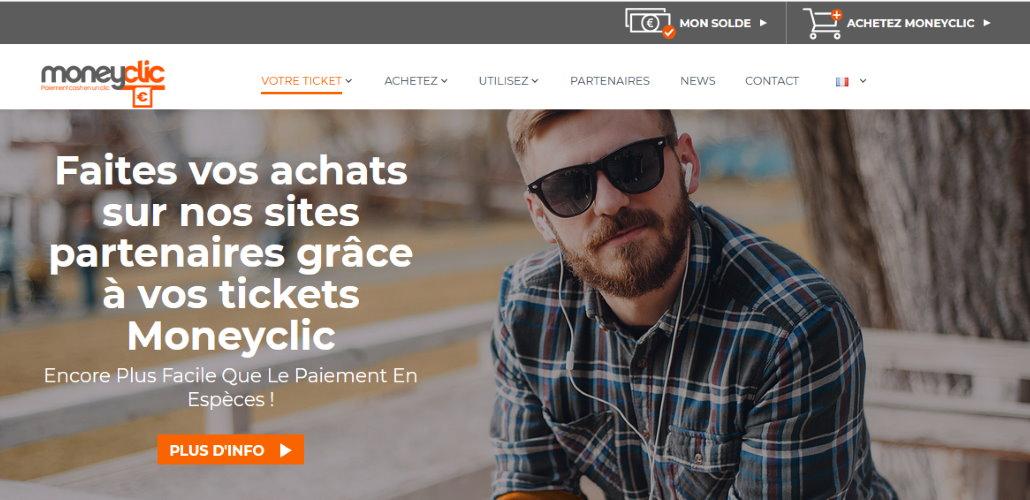 Site web Moneyclic