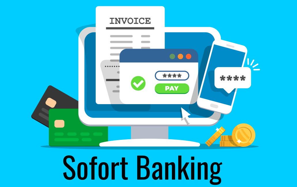Image avec le texte Sofort Banking