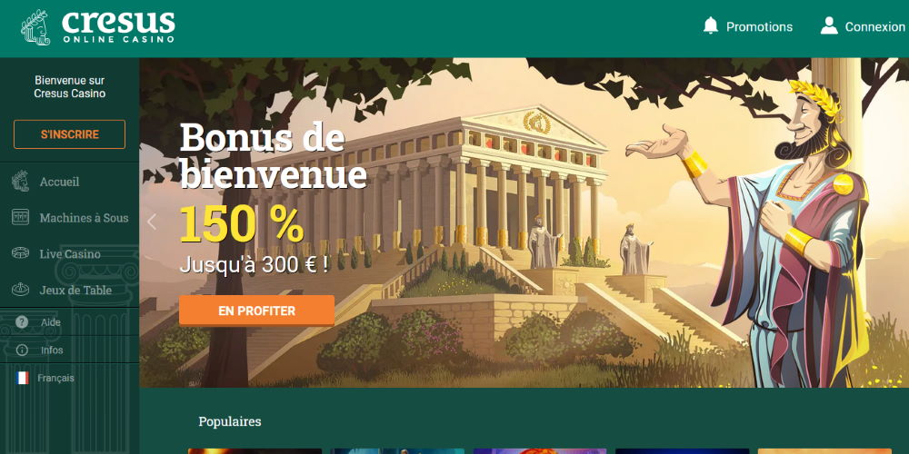 Site web Cesus Casino