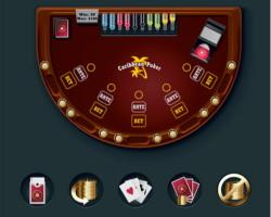 Une table de le Caribbean Stud Poker