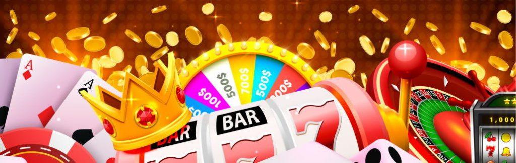 Bannière de jeux de casino