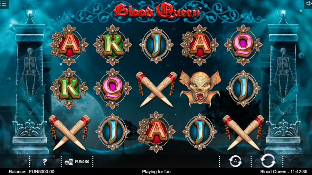 Capture d'écran Blood Queen