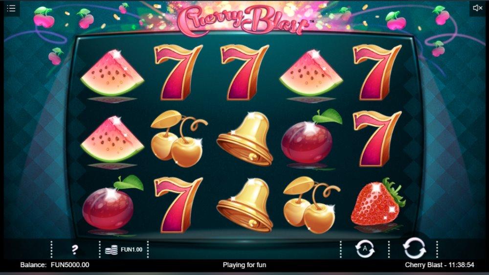 Capture d'écran Cherry Blast