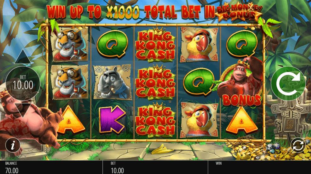 Capture d'écran King Kong Cash