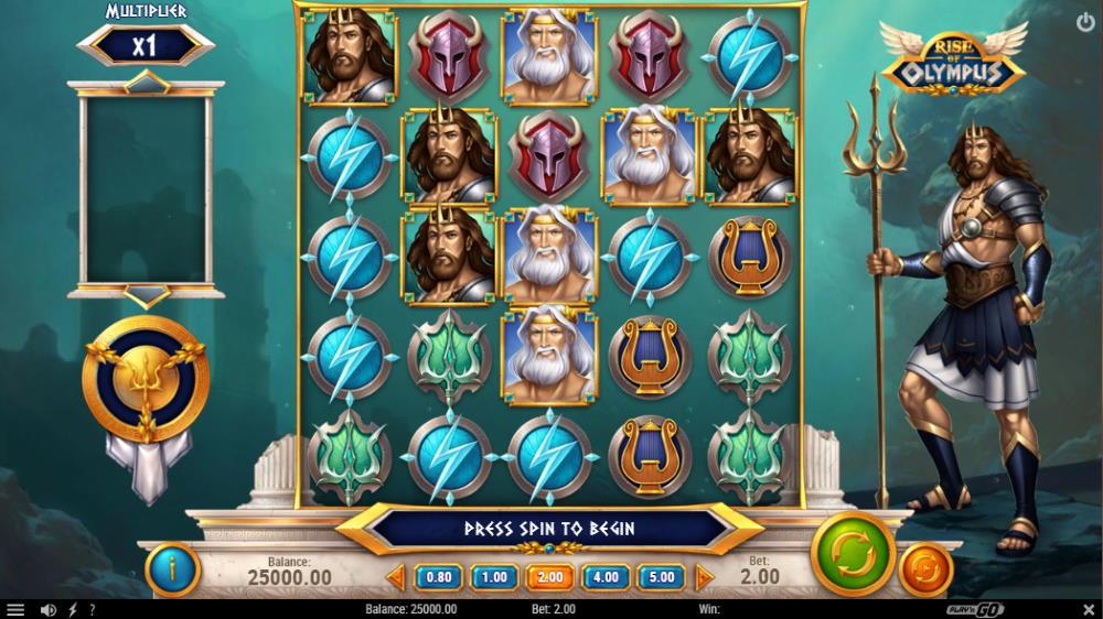 Capture d'écran Rise of olympus