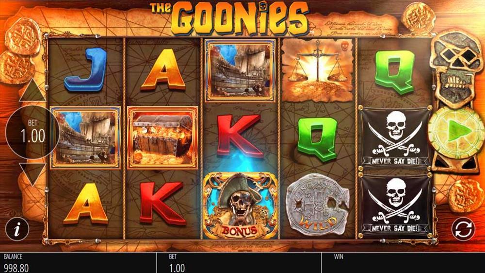 Capture d'écran The Goonies