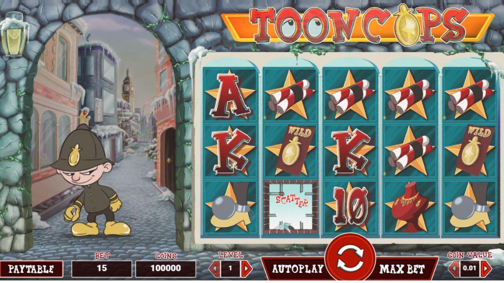 Capture d'écran Tooncops
